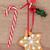 kar · tanesi · bisküvi · Noel · zencefilli · çörek · kar · dekoratif - stok fotoğraf © marilyna