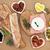 verde · azeitonas · fresco · pão · ervas - foto stock © marilyna