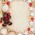 karácsony · csemegék · keret · absztrakt · kekszek · csokoládé - stock fotó © marilyna