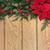 poinsettia flowers on oak stock photo © marilyna