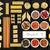 colorato · spaghetti · primo · piano · shot · greggio · isolato - foto d'archivio © marilyna