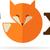 fox icon illustration and element stock photo © marish