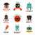 を実行して · ロボット - ストックフォト © marish
