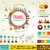reizen · toerisme · infographics · gegevens · iconen · communie - stockfoto © marish