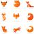fox icons illustrations and elements stock photo © marish