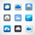 cloud app icons stock photo © marish