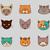 huisdier · dierenarts · lijn · vector · dun - stockfoto © marish