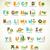 címke · fű · pillangó · keret · művészet · narancs - stock fotó © marish