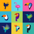 coloré · oiseaux · illustration · résumé - photo stock © marish