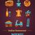 pizza · gıda · menü · kafe · broşür · vektör - stok fotoğraf © marish