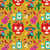 mexico   vector pattern with icons stock photo © marish