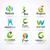 医療 · にログイン · 緑の木 · 葉 · ベクトル · ロゴ - ストックフォト © marish