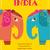 minta · indiai · elefántok · vektor · kézzel · rajzolt · firka - stock fotó © marish