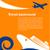 travel background   cruise and airplane stock photo © marish