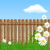 bois · bord · herbe · ciel · printemps · fond - photo stock © marisha