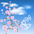 flowering tree against a background of clouds stock photo © marisha