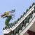 pagoda and dragon sculpture of the taoist temple in cebu philip stock photo © mariusz_prusaczyk