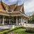 közelkép · részletek · templom · Thaiföld · víz · sziluett - stock fotó © mariusz_prusaczyk