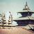 carré · Népal · rouge · architecture · statue · Asie - photo stock © mariusz_prusaczyk