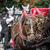 paard · wachten · toeristen · oude · vierkante - stockfoto © mariusz_prusaczyk