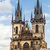 görmek · kilise · Prag · gökyüzü · Bina · mavi - stok fotoğraf © mariusz_prusaczyk