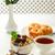 déjeuner · granola · miel · noir · thé · délicieux - photo stock © markova64el
