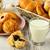sağlıklı · kahvaltı · malzemeler · ahşap · gıda · yeme - stok fotoğraf © markova64el