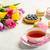 букет · тюльпаны · белый · красивой · торты - Сток-фото © markova64el