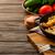 куриная · грудка · фаршированный · шпинат · сыра · овощей - Сток-фото © markova64el
