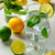vidro · limonada · mojito · piscina · comida · fundo - foto stock © markova64el