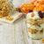 egészséges · reggeli · hozzávalók · házi · készítésű · granola · tál - stock fotó © markova64el