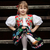 vergadering · meisje · traditioneel · kostuum · klein · meisje - stockfoto © maros_b