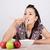 молодые · китайский · женщину · еды · обеда - Сток-фото © maros_b