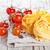 uncooked pasta and fresh tomatoes stock photo © marylooo
