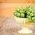 fresco · uvas · verdes · amarelo · tigela · mesa · de · madeira · comida - foto stock © marylooo