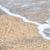 kövek · tengerpart · távoli · sziget · horizont · naplemente - stock fotó © marylooo