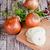 úmido · verde · cebolas · sessão - foto stock © marylooo