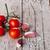 cherry tomatoes garlic peppercorns and salt stock photo © marylooo