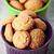 アーモンド · クッキー · ボウル · 木製 · 甘い · 砂糖 - ストックフォト © marylooo