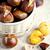 meyve · sonbahar · düşmek · tatlı · somun - stok fotoğraf © marylooo