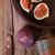 doce · faca · velho · mesa · de · madeira · comida · fundo - foto stock © marylooo