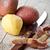 hámozott · krumpli · otthon · asztal · tányér · bőr - stock fotó © marylooo
