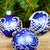 Noël · décorations · sapin · branche · bleu · bois - photo stock © marylooo