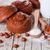 tej · csokoládé · mogyoró · fából · készült · étel · fa - stock fotó © marylooo