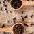 pimenta · preta · madeira · colher · tempero · imagem · comida - foto stock © marylooo
