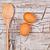 alambre · batidor · dos · marrón · huevos · rústico - foto stock © marylooo