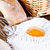 сырой · яйца · ложку · мучной · белый - Сток-фото © marylooo