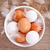eieren · rustiek · houten · tafel · tabel · hout · boerderij - stockfoto © marylooo