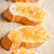 частей · багет · оранжевый · белый · пластина - Сток-фото © marylooo