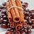 コーヒー豆 · シナモン · 自然 · 暗い · 朝食 · カップ - ストックフォト © marylooo
